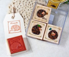 Quartet Stamp Set/Hedgehog
