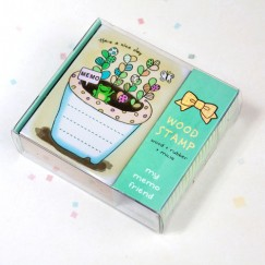 Memo Stamp/Frog/Potting