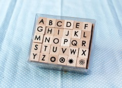Alphabet stamp set/Sun
