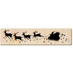 Snow City stamp/Sled/Elk