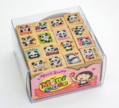 Minicute stamp set/Cute Panda