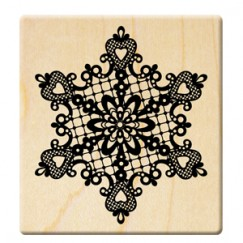 2014 Christmas stamp/Lace snowflakes