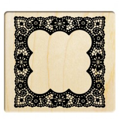 Classic art frame stamp/Square lace frame
