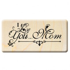 Happy Mother's Day stamp/I Love you Mom