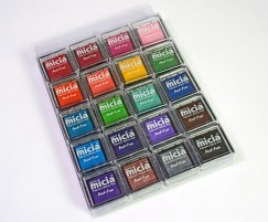 Pigment small inkpad-20 colors set
