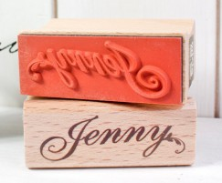 Your name stamp-J