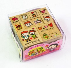 Minicute stamp set/Love Kiss