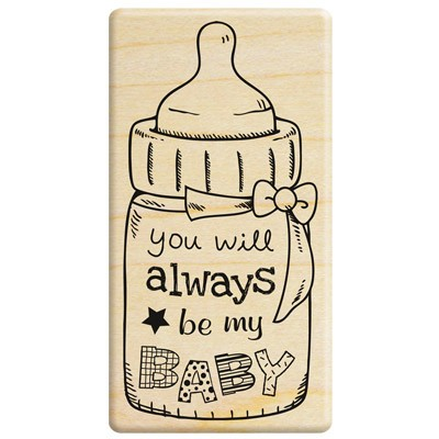 Sweet baby stamp/baby's bottle/feeder