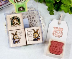 Quartet Stamp Set/Rabbit Bunny