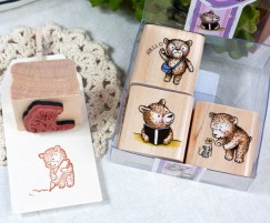 Quartet Stamp Set/Cute Bear