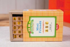 Minifriend stamp set/Alphabet Numbers Letters