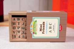 Minifriend stamp set/Alphabet Numbers