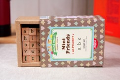 Minifriend stamp set/Alphabet Lowercase Letters