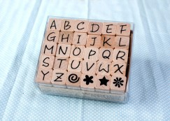 Alphabet stamp set/Element