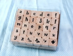 Alphabet stamp set/Pattern