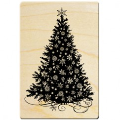 Snow City stamp/Christmas Tree/Snowflakes