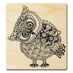 Love never ends stamp/Owl