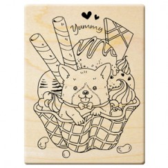 Tenderness manor Stamp/Dog/Sundae