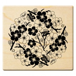 Year of the sheep stamp/Plum blossom
