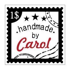 Candy box-Vintage stamp