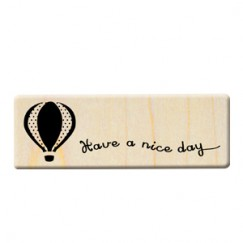 Formosa trip stamp/Balloon/Have a nice day