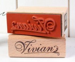 Your name stamp-V
