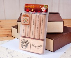 Garden stamp set/Squirrel