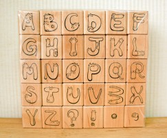 Cute Cat Kitten Alphabet Letter