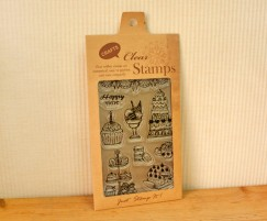 cleae stamp-French dessert