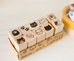 Ten pcs stamp set/Chinese Characters