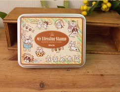 Iron box stamp-Bulldog Tour Paris