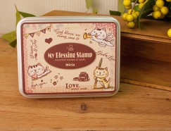 Iron box stamp-Gospel kitten