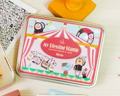 Iron box stamp-Huan circus