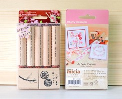 Garden stamp set -Cherry blossoms