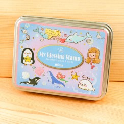 Iron box stamp-Ocean Heart Mermaid