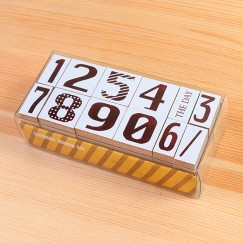 Scribble stamp set-Date number