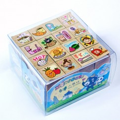 Minicute stamp set-Taiwan's delicious food