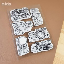 [Pre-order]Cling stamp set- Handbook Collage 15th Anniversary