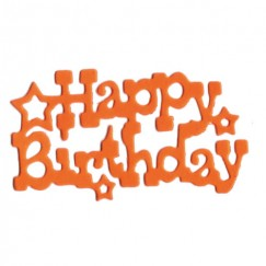 Die Cut Craft-happy birthday