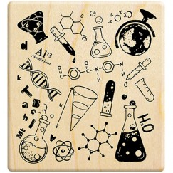 Scientific element background