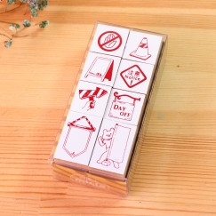 Scribble stamp set-Sign