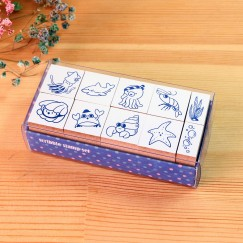 Scribble stamp set-Atlantic party