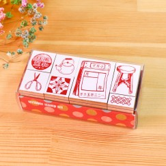 Scribble stamp set-Old memory