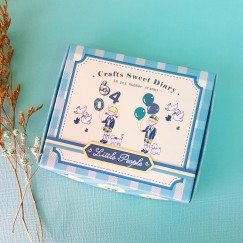 Sweet diary stamp set-numeral balloon