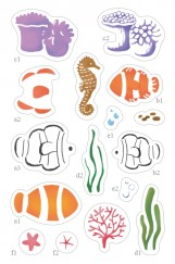 Color Layering CLEAR STAMPS-Clownfish