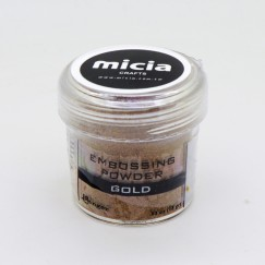 NEW-Embossing powder-Gold