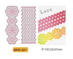 min craft die - Lace ribbon